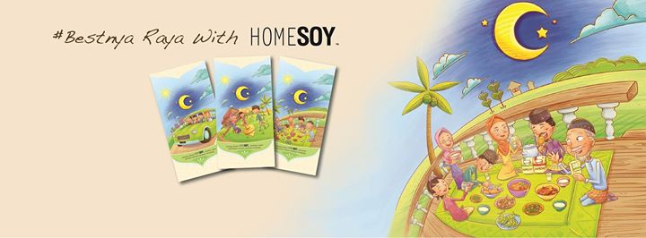 #Bestnya Raya with HomeSoy Giveaway Banner