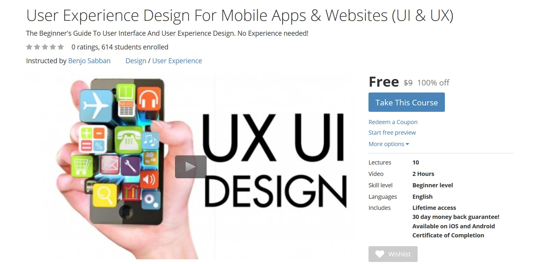 User Experience Design Certification Online User Guide Manual That