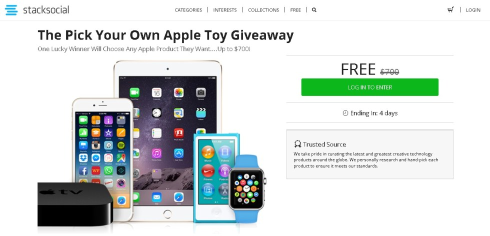 The Pick Your Own Apple Toy Giveaway at Socialstack Form