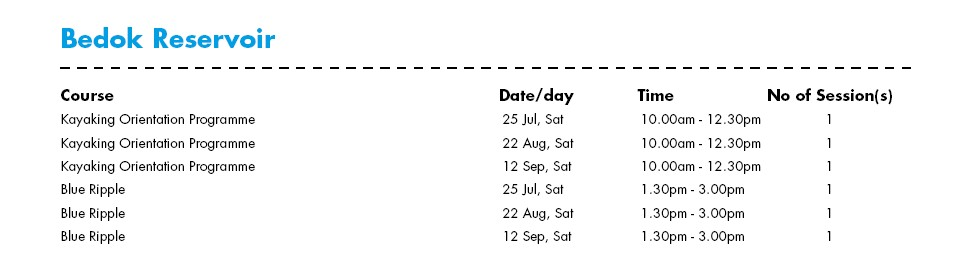 Celebrate SG50 & PA Community Day with Free Courses at Bedok Reservoir Water-Venture Outlets Singapore