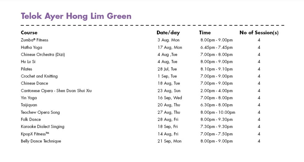 Celebrate SG50 & PA Community Day with Free Courses at Telok Ayer Hong Lim Green CC Singapore