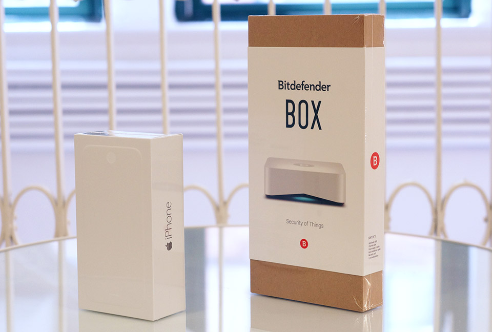Engadget giveaway win an iPhone 6 and BOX courtesy of Bitdefender!