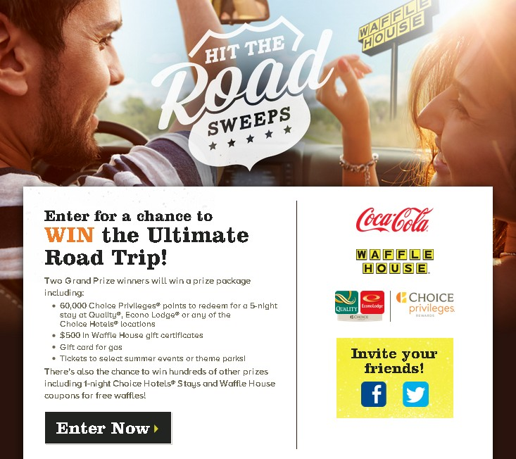 Enter for a chance to WIN the Ultimate Road Trip