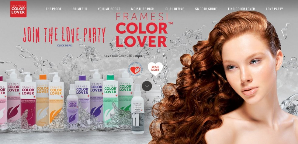 FREE samples of FRAMESI COLOR LOVER