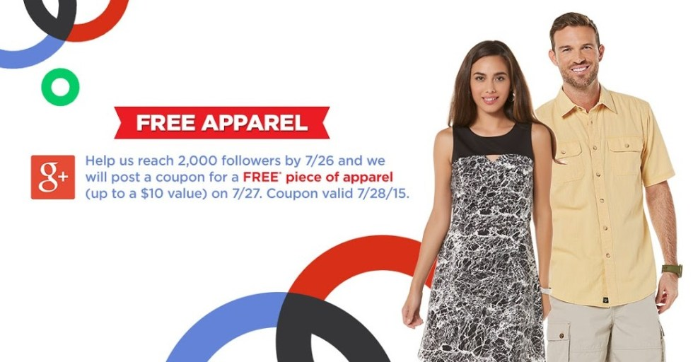 Free Piece of Apparel at Sears Outlet Stores