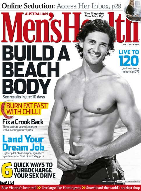 Get Men's Health for FREE at Mercury Magazine Cover