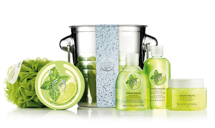 WIN The Body Shop's refreshing Limited Edition Big Splash Virgin Mojito gift set at Nuyou Singapore