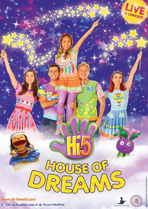 Win A family pass to Hi-5 House of Dreams at Simply Her Singapore