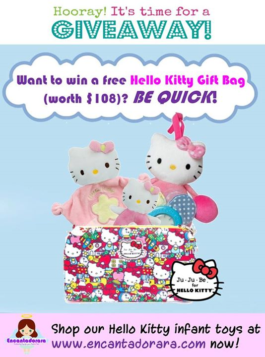 Win Hello Kitty Gift Bag (worth $108) at Encantadorara Singapore