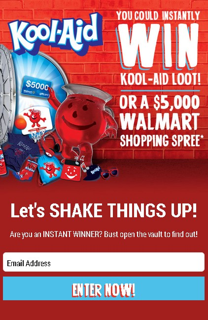 Win Kool-Aid-Loot! Or a $5,000 #Walmart Shopping Spree 1