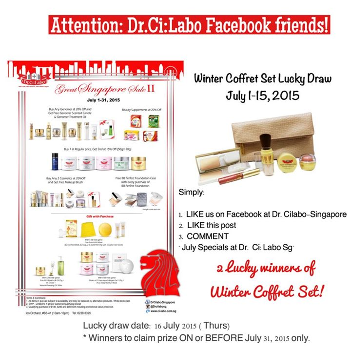 Win a Winter Coffret Set at Dr.CiLabo Singapore 1
