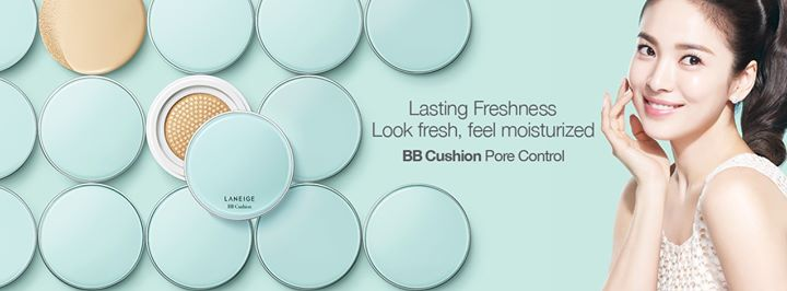Win special gift sets for the launch of LANEIGE BB Cushion 1
