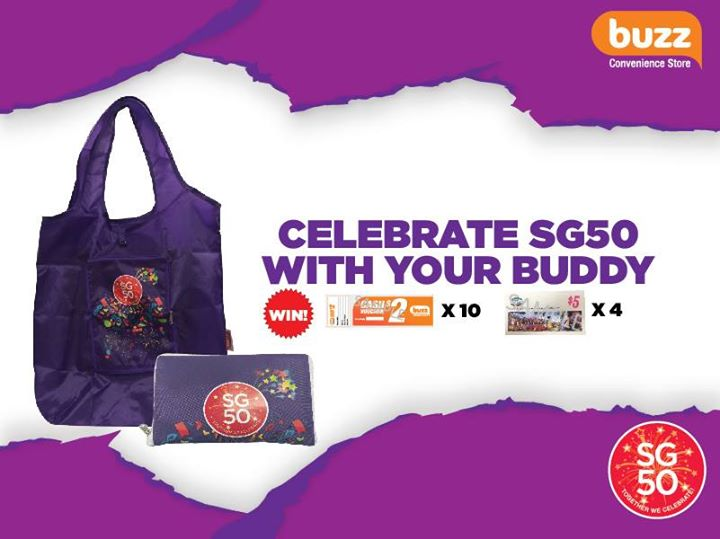 Celebrate SG50 with your buddy at Buzz Singapore