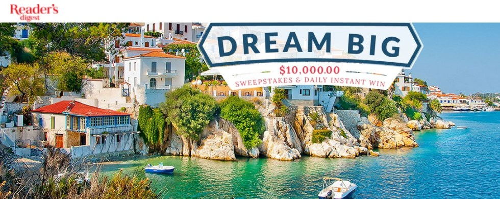 Dream big and Win big with Reader's Digest USA