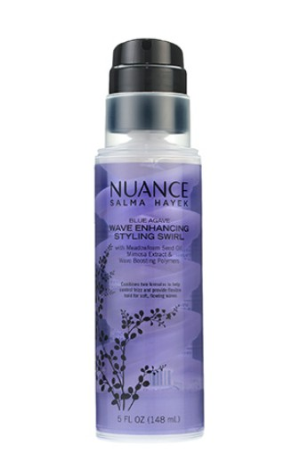 FREE Nuance Salma Hayek Blue Agave Wave Enhancing Styling Swirl at Allure USA