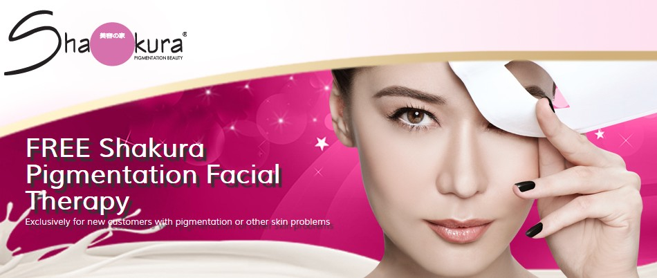 FREE Shakura Pigmentation Facial Therapy