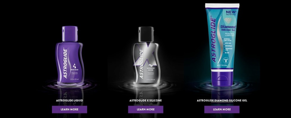 Free Astroglide Sample Pic Products