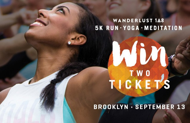 Giveaway Two Tickets To Wanderlust 108 In September
