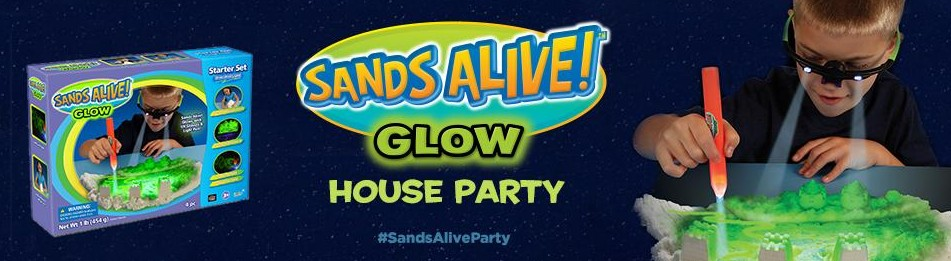 Host a Sands Alive! Glow House Party