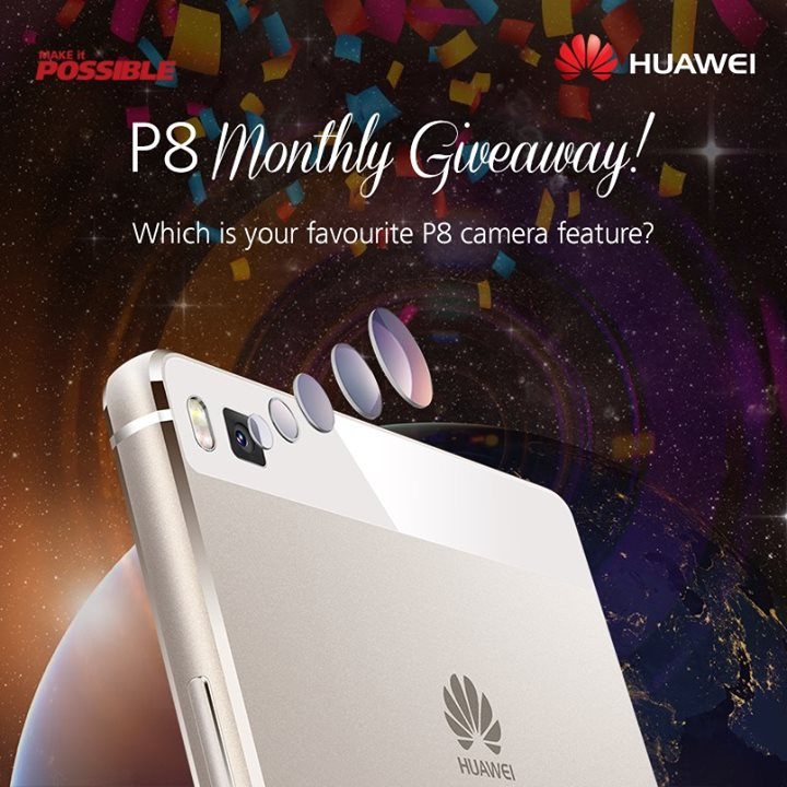Huawei P8 August 2015 Giveaway