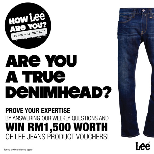 Lee Jeans Malaysia Contest Are you a true demimhead