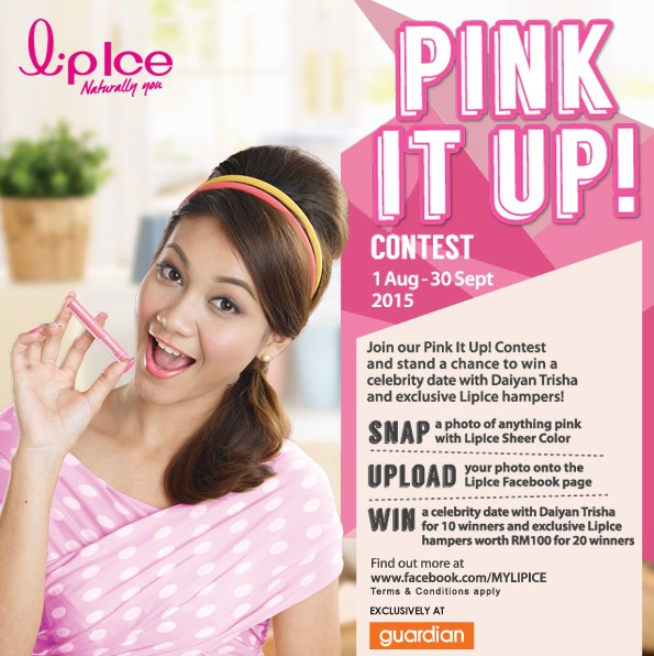 Lipice Malaysia Pink It Up Contest!