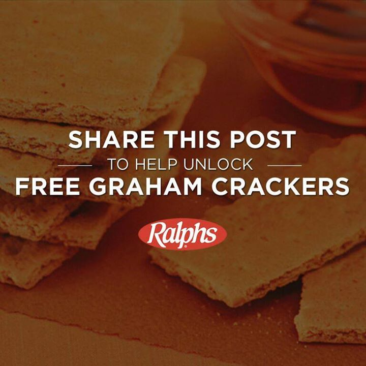 Share this post 1000 times and unlock a FREE box of 16 oz Kroger Graham Crackers on August 10, National S'mores Day!