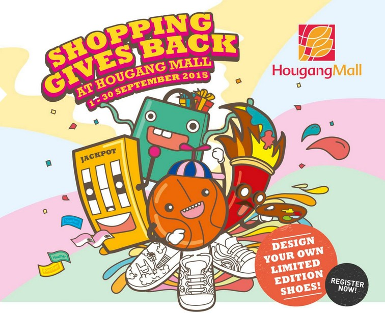 Shoe Design Competition at Hougang Mall