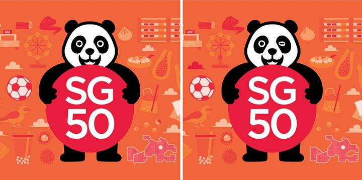 Spot 5 differences & Win $50 at Foodpanda Singapore