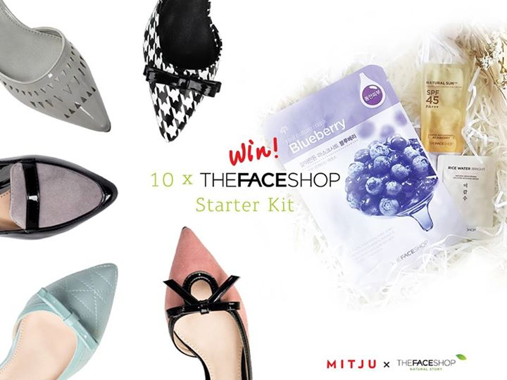 WIN THEFACESHOP Starter Kit at MITJU SINGAPORE