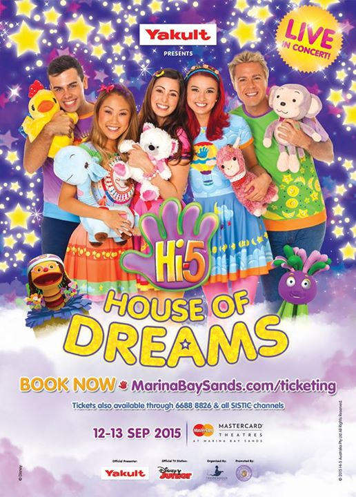 WIN Tickets to Hi-5 House of Dreams at OneKM- Mall + More Singapore