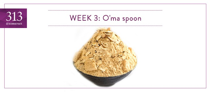 Win $50 O'ma spoon Korean Dessert Cafe vouchers at 313@somerset