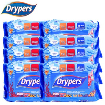 Win Wet Wipes from Dryers Singapore