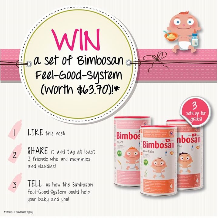 Win a set of Bimbosan Feel-Good-System at Mothercare Singapore