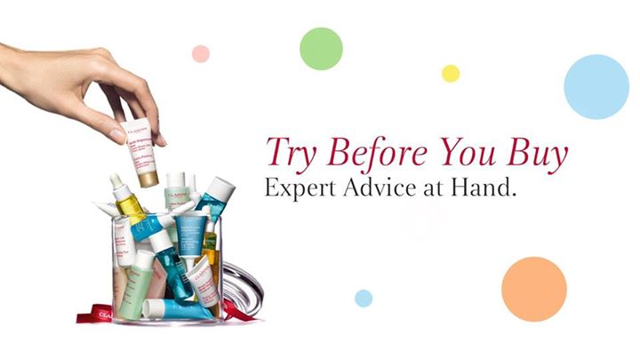 Bring home free samples based on your skin concerns at Clarins Singapore