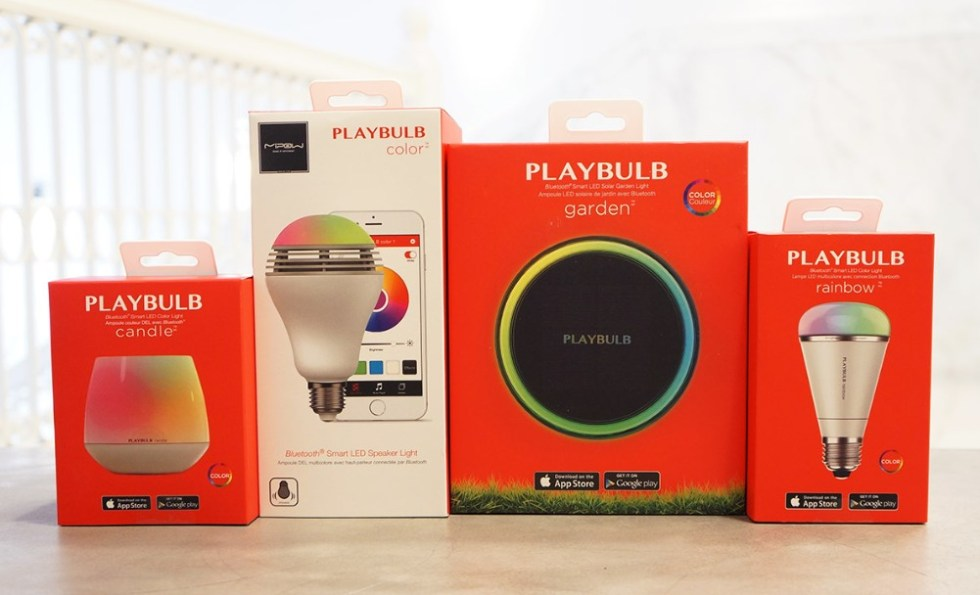 Engadget giveaway win a set of Playbulb lights courtesy of Mipow