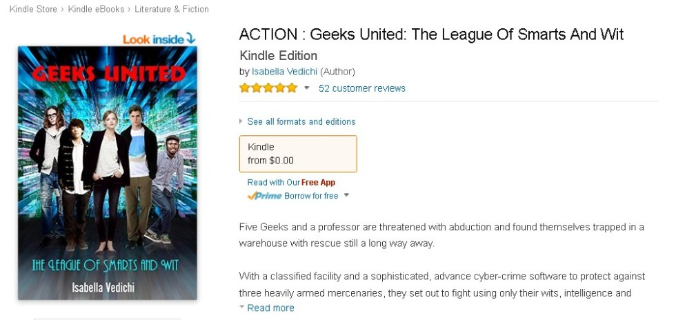 FREE @ Amazon- ACTION  Geeks United The League Of Smarts And Wit (2)