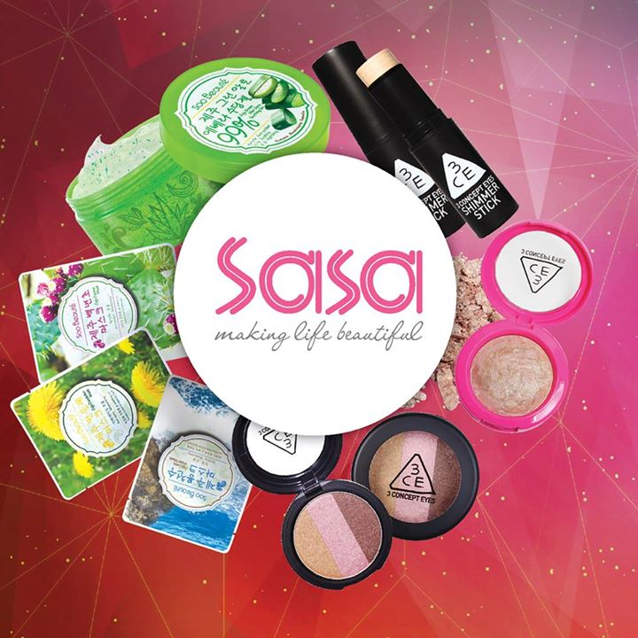 SHARE YOUR FAVOURITE BEAUTY PRODUCT WITH US AT SASA SINGAPORE