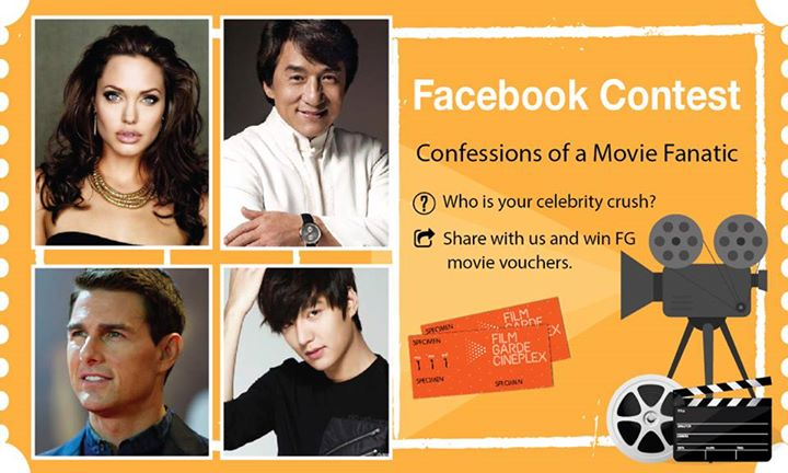 Share with us who is your celebrity crush and stand a chance to win FG movie vouchers!