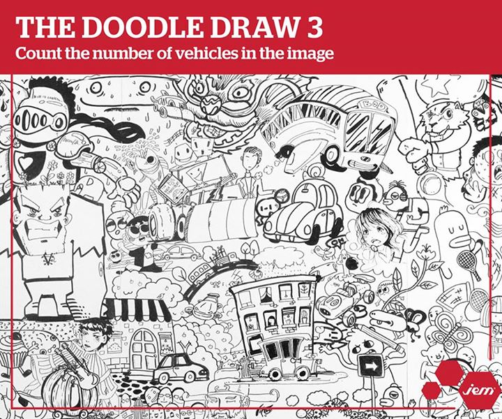 The Doodle Draw 3 @ Jem Singapore