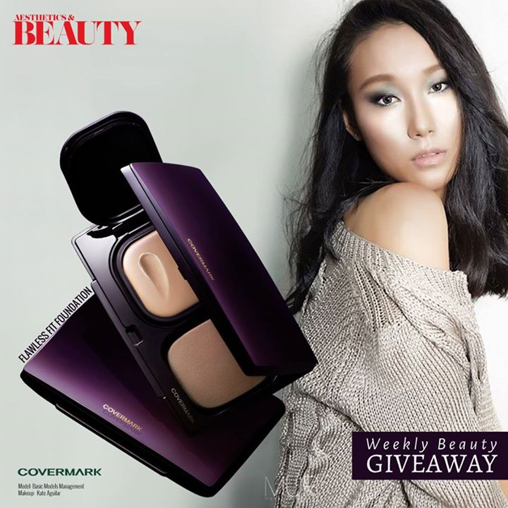 WIN #Covermark Flawless Fit Foundation at Aesthetics & Beauty Singapore