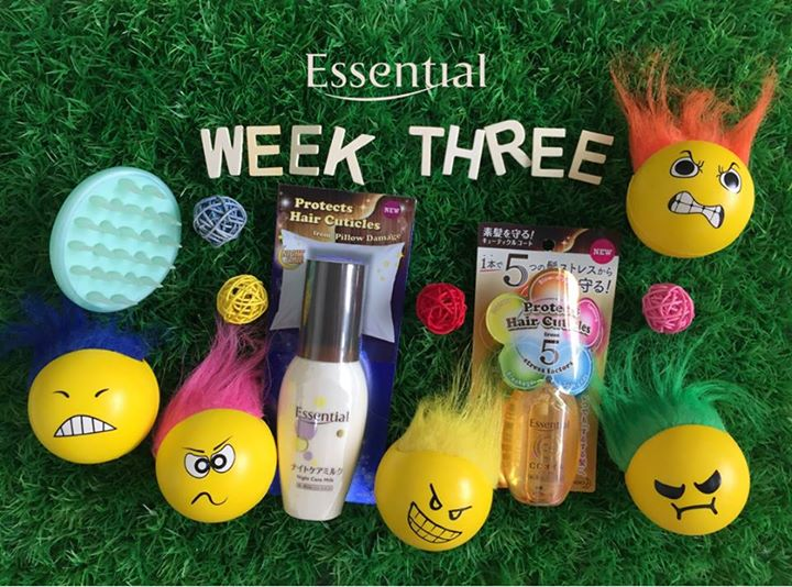 WIN Mane-Friendly hamper at Essential Singapore