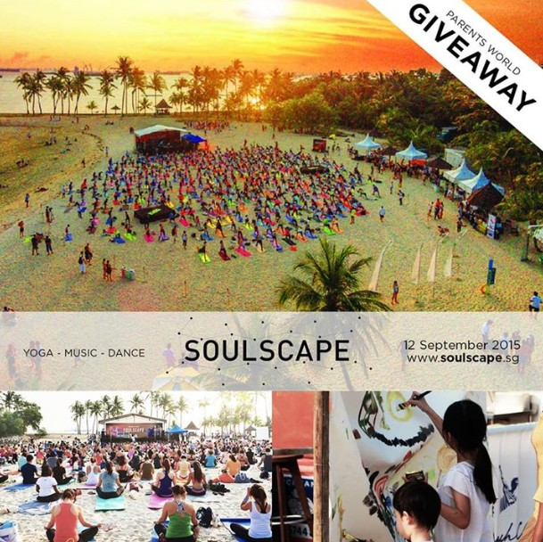 WIN tickets to the Sunset Yoga and Night Festival at Parents World Singapore