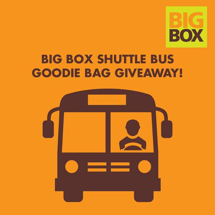 Win a BIG BOX Goodie Bag