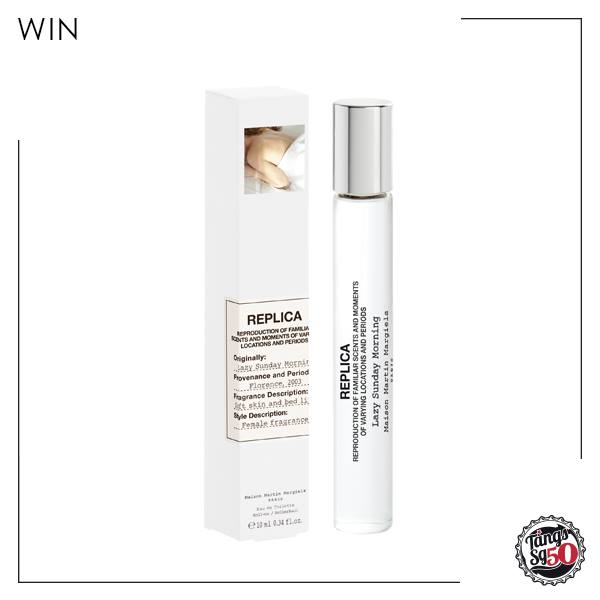 Win a Lazy Sunday Morning rollerball from Maison Margiela at TANGS Singapore