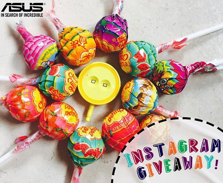 Win this amazing selfie prop at ASUS Singapore