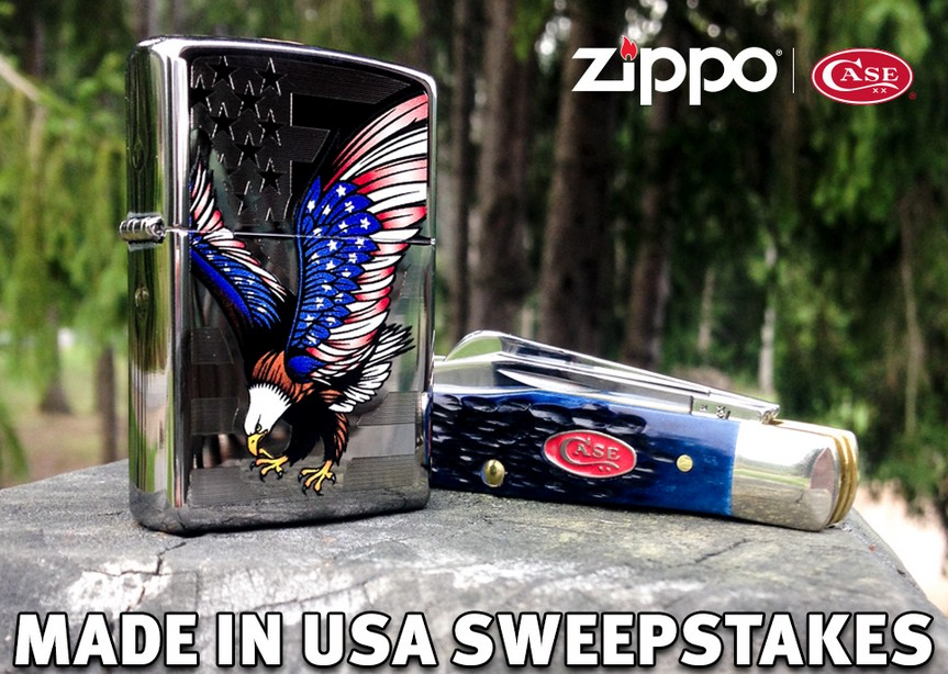 Zippo Made in USA Sweepstakes