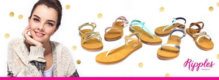 10 pairs of sandals to giveaway to 10 lucky fans at Ripples flip flops