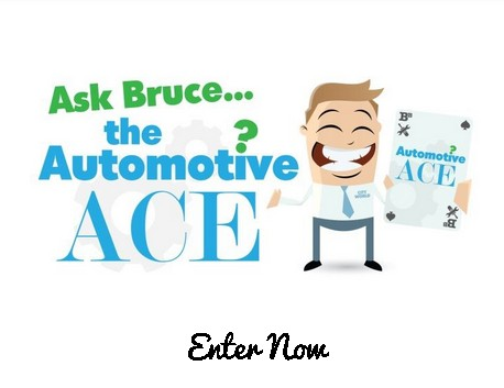Ask Bruce the Automotive Ace and enter to win an Apple Watch!