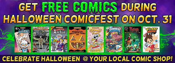 Celebrate Halloween at Comic Book Shops!